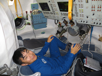When I am doing Soyuz training, I remember my pilot training in U.S.A. and I feel instantly rejuvenated! I am happy that my 43 year old self is still challenging itself in the same way as it did when I was 23 and I am grateful to have such an opportunity. (Photo supplied by: JAXA/GCTC)