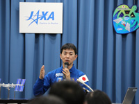 JAXA宇宙飛行士活動レポート2015年1月へリンク