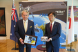 AHiS News:  Australian Ambassador gives JAXA seeds to be sent into space!