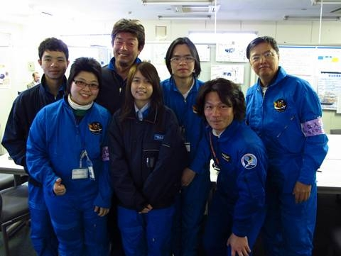 Students experience microgravity