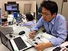 Kibo- ABC members talk with JAXA J-SSOD Specialist
