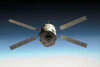 写真:欧州補給機(ATV)初号機(出典:JAXA/NASA)