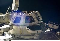 写真:ISSに設置されたキューポラ(出典:JAXA/NASA)