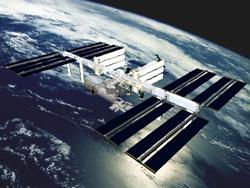写真:国際宇宙ステーション