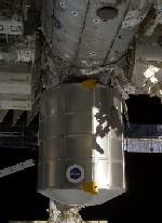 写真:ISSに設置されたPMM(出典:JAXA/NASA)