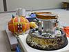 画像:筑波宇宙センターにおける小型回収カプセル技術実証 カプセル本体等の記者公開についてへリンク