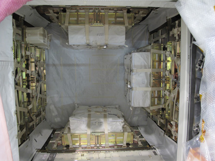 Photo: Cargo Layout inside the PLC