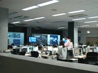 JMSTが行われているHTV運用管制室内部の様子