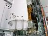 画像:HTV初号機、衛星フェアリングに格納へリンク
