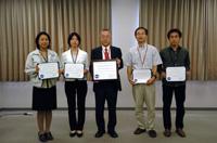表彰されたHTV NASA/JAXA合同訓練設備チーム