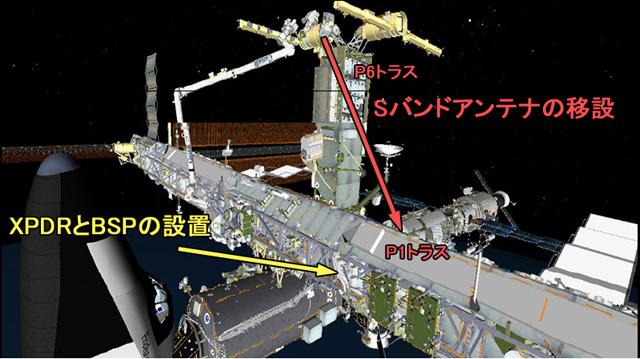 第3回船外活動: 国際宇宙ステー...