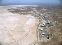 写真:エドワーズ空軍基地内のNASAドライデン飛行研究センター(DFRC)