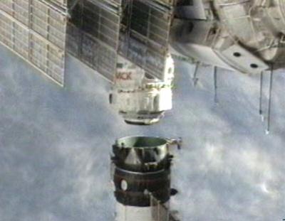 写真:MRM2と推進モジュール部の分離の様子(提供:NASA)