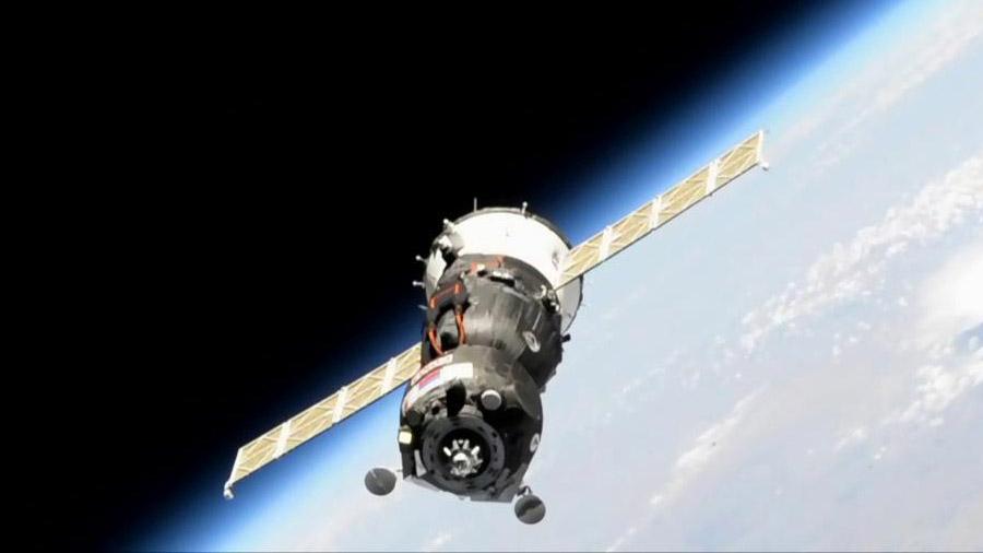 画像:ソユーズMS-14宇宙船(60S)ミッションへリンク