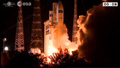 射点に到着したアリアン5ロケット
