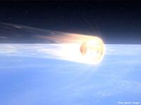 大気圏への再突入イメージ