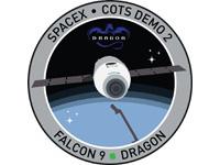 C2+ミッションパッチ(出典:SpaceX)