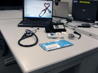 宇宙医学実験支援システムの医学機器(出典:JAXA)