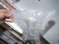 飲料水用のドリンクバッグ(出典:JAXA/NASA)