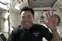 「THE SPACE HANGOUT」に参加する星出宇宙飛行士(出典:JAXA/NASA)