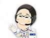画像:http://iss.jaxa.jp/iss/jaxa_exp/kanai/cheering/へリンク
