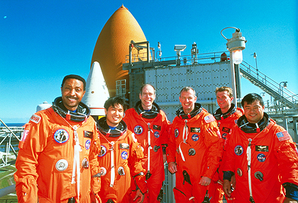 STS-72ミッションのクルー