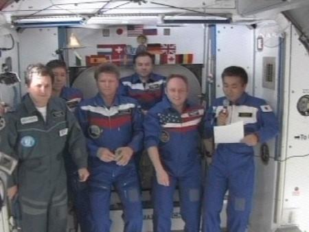 若田宇宙飛行士、第19次長期滞在...