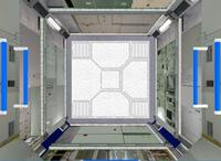 打上げ時の船内保管室内部のイメージ