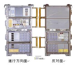 画像:ズヴェズダ搭載MPAC&SEED実験装置外観写真(一式)