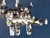 画像:「きぼう」船外利用事業の民間事業者募集(企画提案型)の公告予告のお知らせへリンク