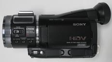 HVR-A1J is used for the COTS HDTV-EF
