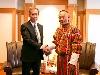 画像:JAXA President Meets with Bhutan Prime Ministerへリンク