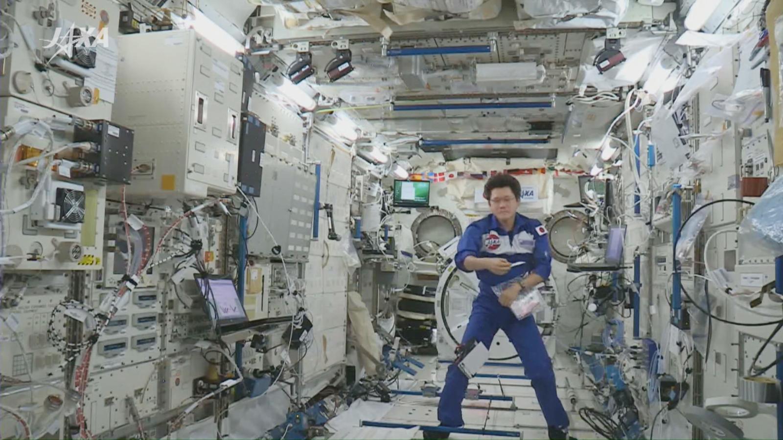 「きぼう」日本実験棟 船内実験室