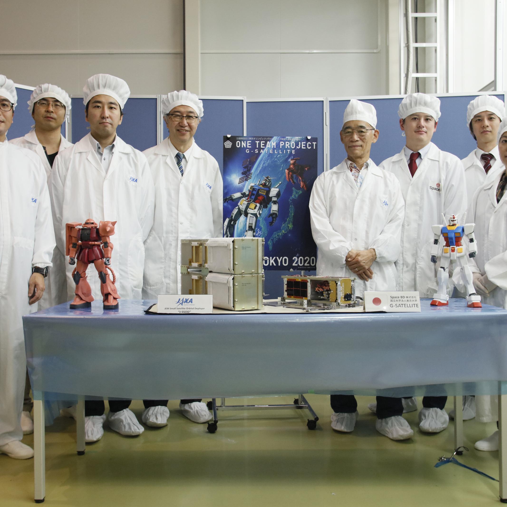 「きぼう」からの衛星放出事業の民間移管後初となる超小型衛星がJAXAに引き渡されました~いよいよ小型衛星放出事業が本格化します~