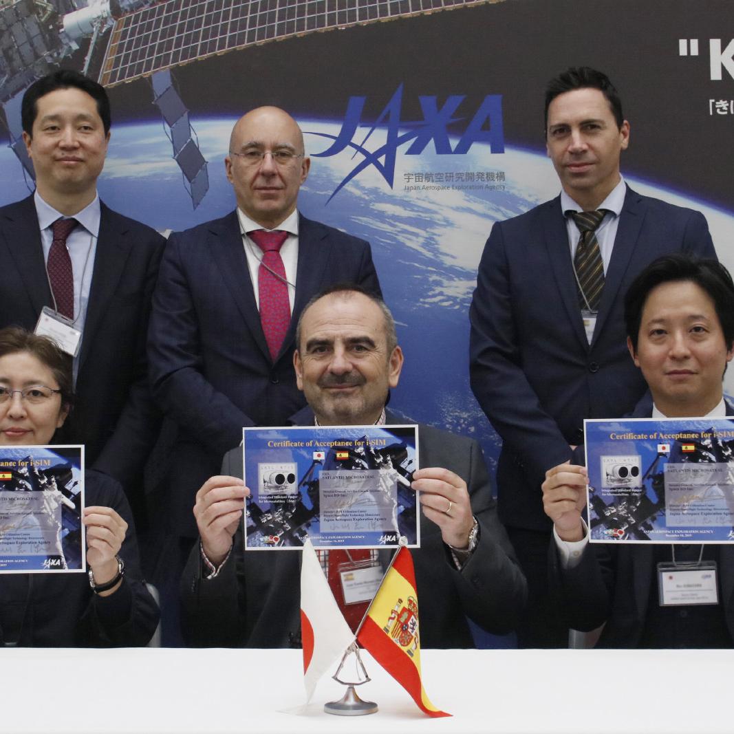~海外初となる民間ベンチャーによる「きぼう」船外利用が2020年春頃に開始~ スペインの宇宙ベンチャーSatlantis社開発のペイロード