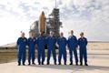 ターミナル・カウントダウン・デモンストレーション・テスト(Terminal Countdown Demonstration Test: TCDT)に参加するSTS-122クルー