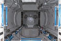 船内実験室の打上げ時の搭載状況