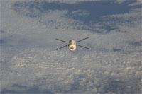 ISSから分離したATV(提供:NASA)