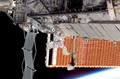 第2回船外活動を行うパトリック・フォレスター宇宙飛行士(飛行6日目)