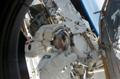 第4回船外活動を行うパトリック・フォレスター宇宙飛行士(飛行10日目)