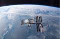 分離後にアトランティス号から撮影されたISS(飛行12日目)
