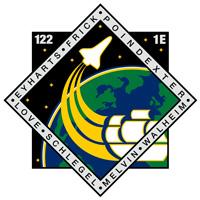 STS-122ミッションパッチ
