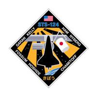 画像:STS-124ミッションパッチ