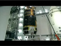 衛星分離部に結合される「こうのとり」2号機