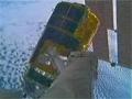 「こうのとり」2号機をハーモニー天頂側ポートへ移設する様子