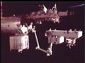 「こうのとり」3号機の曝露パレットの移設