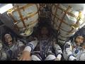 大西宇宙飛行士 ソユーズMS-01宇宙船(47S)船内映像