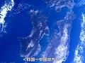 「きぼう」日本実験棟から4Kで撮影された日本列島