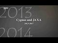 Cygnus and JAXA 2013-2017