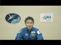 東日本大震災から間もなく1年、若田宇宙飛行士からのメッセージ(日本語)